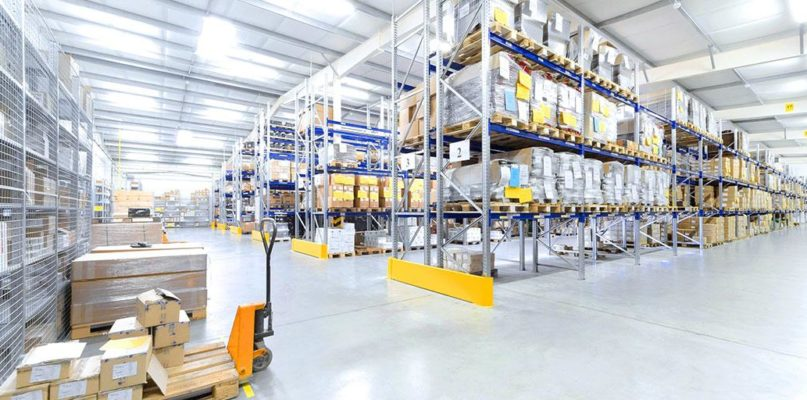 ONLINE RETAILERS DRIVE UP DEMAND FOR WAREHOUSE SPACE